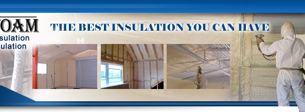 Closed cell foam insulation